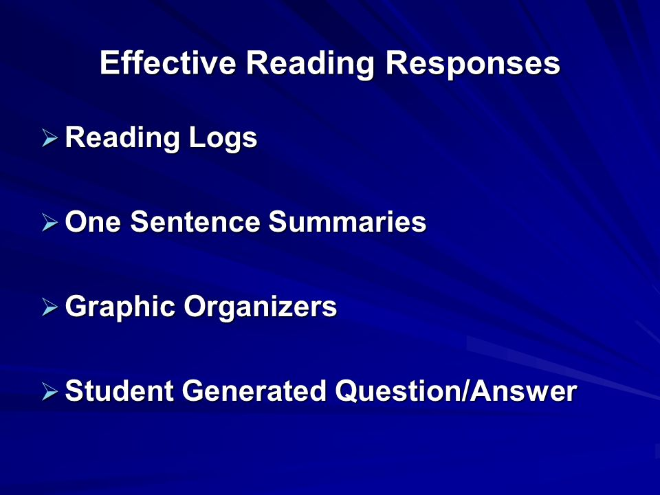 Reading Levels Independent: Easy –Word Identification=99% accuracy –Comprehension=95% Instructional: Learning –Word Identification=90% accuracy –Compr