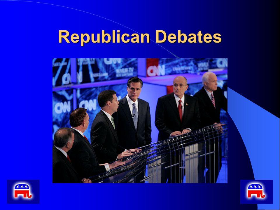 Republican Debates