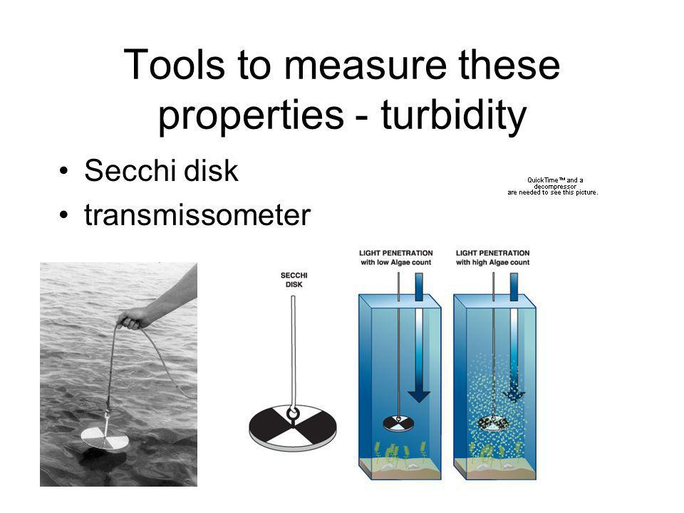 Tools to measure these properties - dissolved oxygen Methods - chemical, electrical, optical Optode Polarigraphic electrode Winkler