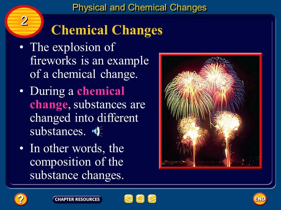 Changing State In some cases, matter changes between the solid and gas states without ever becoming a liquid. Physical and Chemical Changes 2 2 The pr