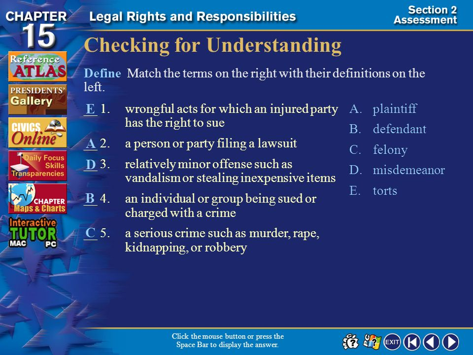 Section 2-15 Click the mouse button or press the Space Bar to display the answer. Would international law be involved in disputes over trade regulatio