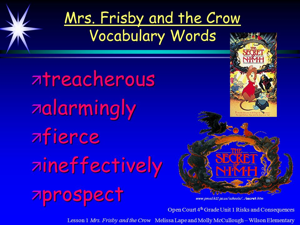 Word Knowledge These words contain short-vowel sounds.