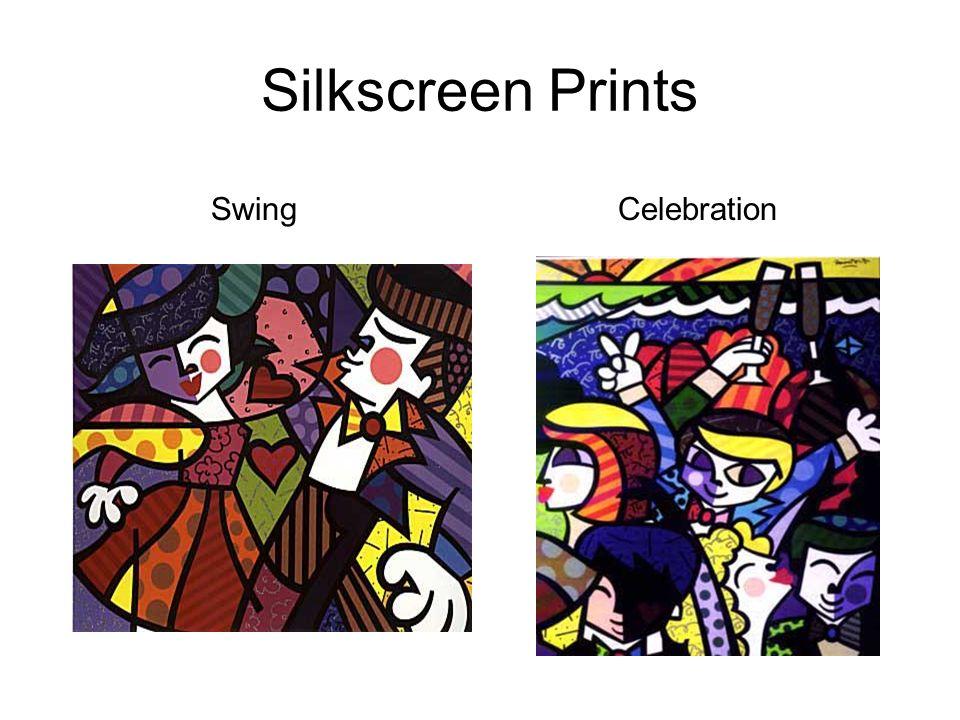Silkscreen Prints SwingCelebration