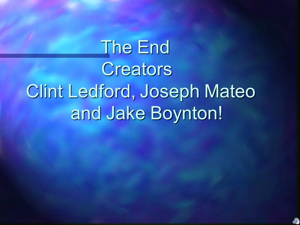 The End Creators Clint Ledford, Joseph Mateo and Jake Boynton!
