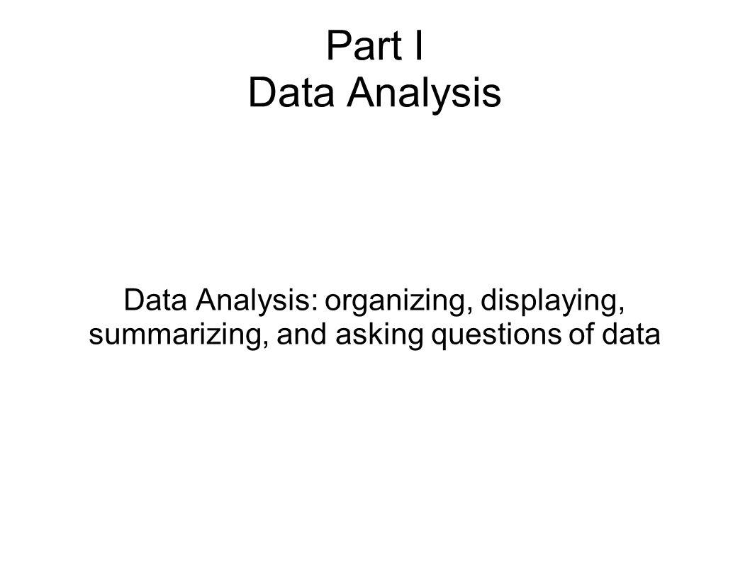 Describing Quantitative Variables