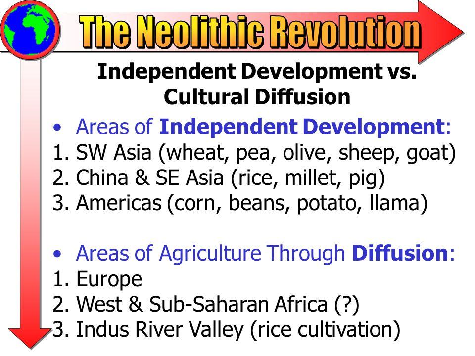 Interactions Between Nomadic Peoples and Sedentary Agricultural Peoples Some nomadic peoples engaged in pastoralism.