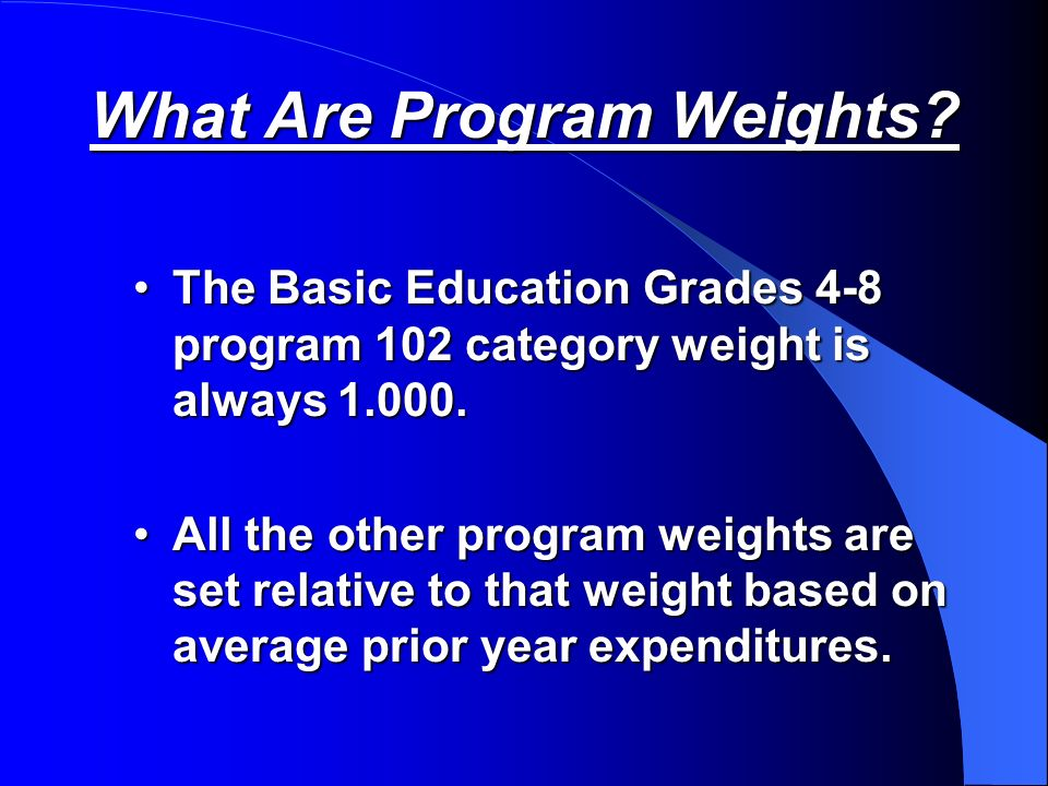 The districts appropriated total group 2 weighted FTE (WFTE) is our cap. Any actual Group 2 WFTE over this total is only funded at a weight of 1.0 by