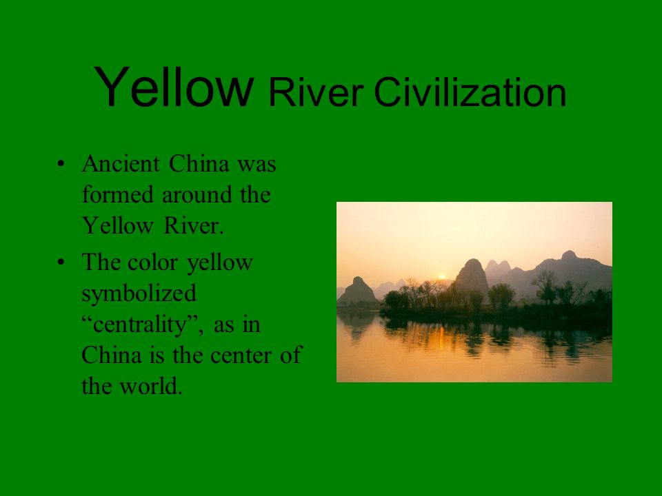 As in Egypt, Mesopotamia, and along the Indus River, Chinese civilization began within a major river valley. Modern China itself is a huge geographica