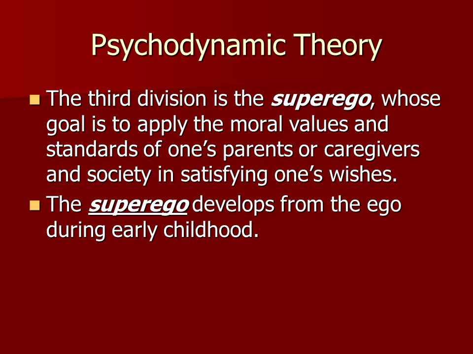 Psychodynamic Theory Disagreements.Disagreements.