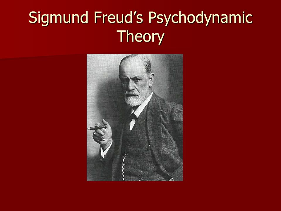 Psychodynamic Theory Freuds psychodynamic theory developed in the early 1900s grew out of his work with patients.