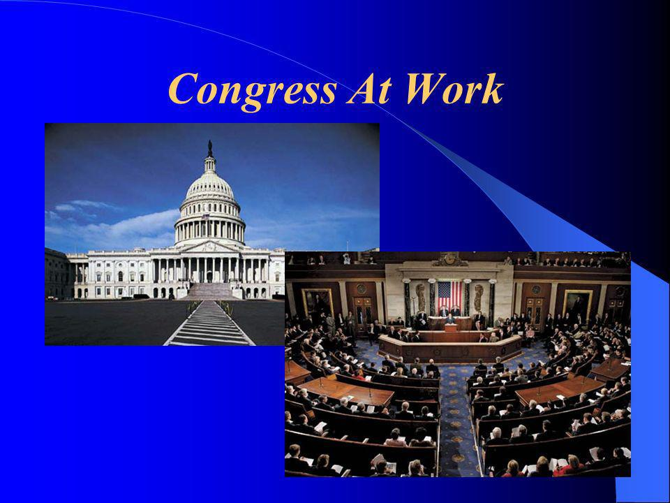 Congress At Work