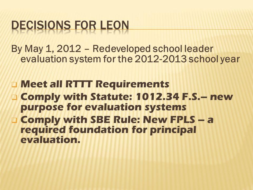 Improve Teacher and Principal Evaluation Systems – (D)(2)(ii)-(iii) Utilizes …..