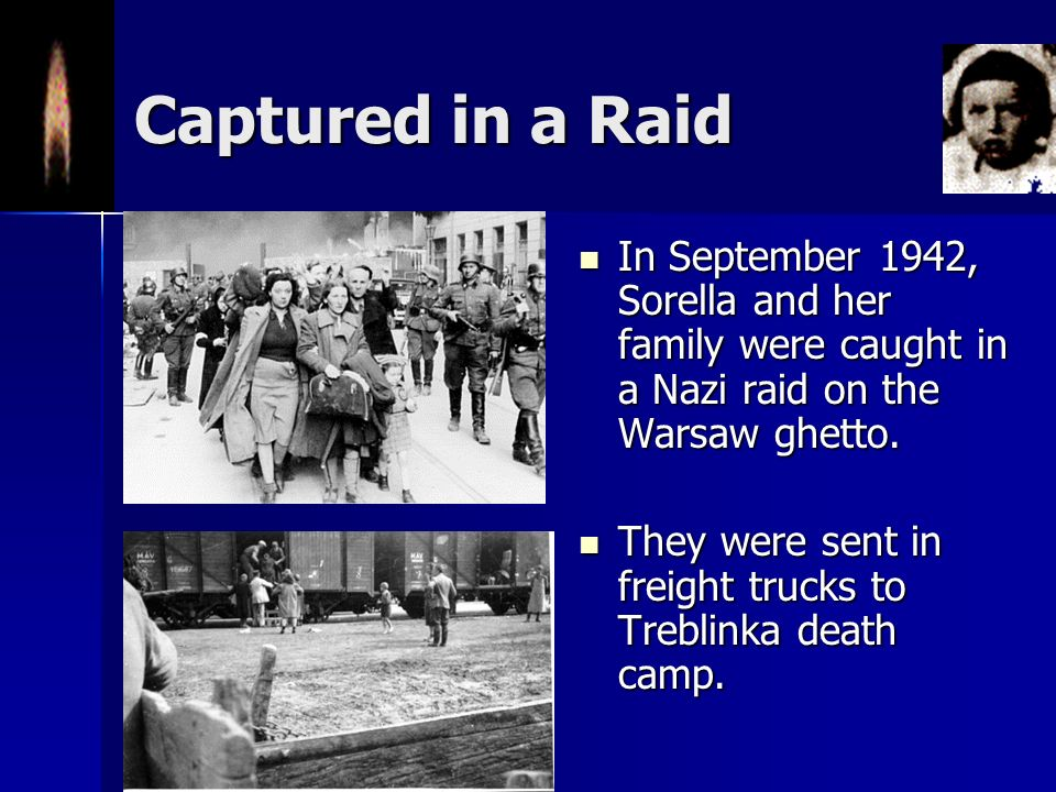 Deportation Begins In July 1942, the Germans began raids on the ghetto to round up residents for deportation. In July 1942, the Germans began raids on