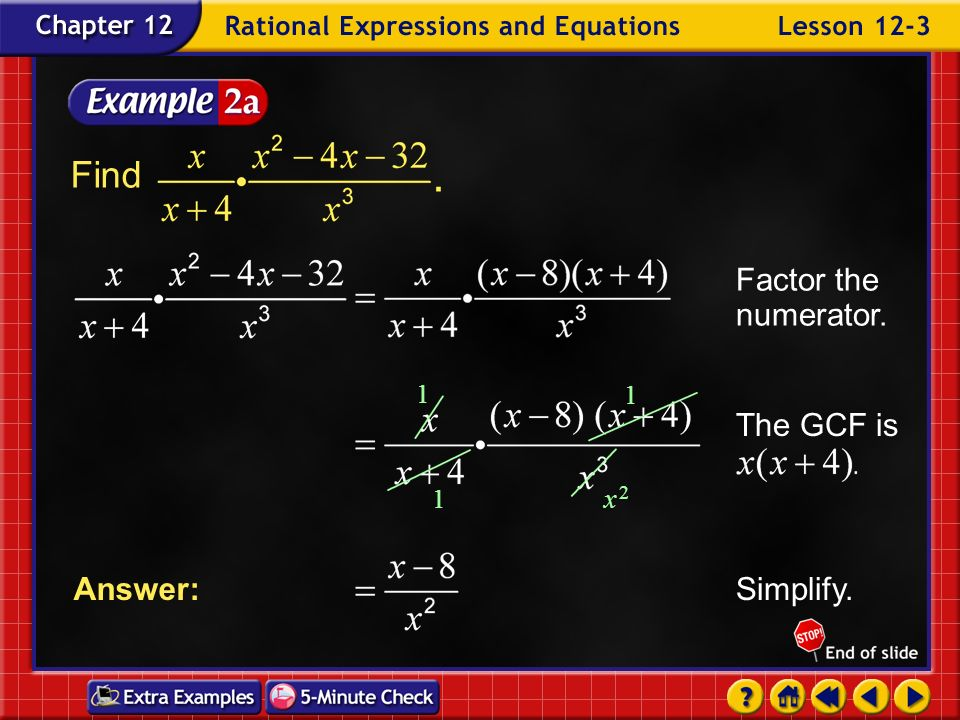 Example 3-1b Answer: a. Find b. Find