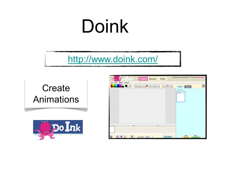 Doink http://www.doink.com/ Create Animations