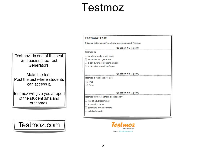 Testmoz Reports 6