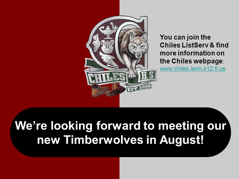 Were looking forward to meeting our new Timberwolves in August.