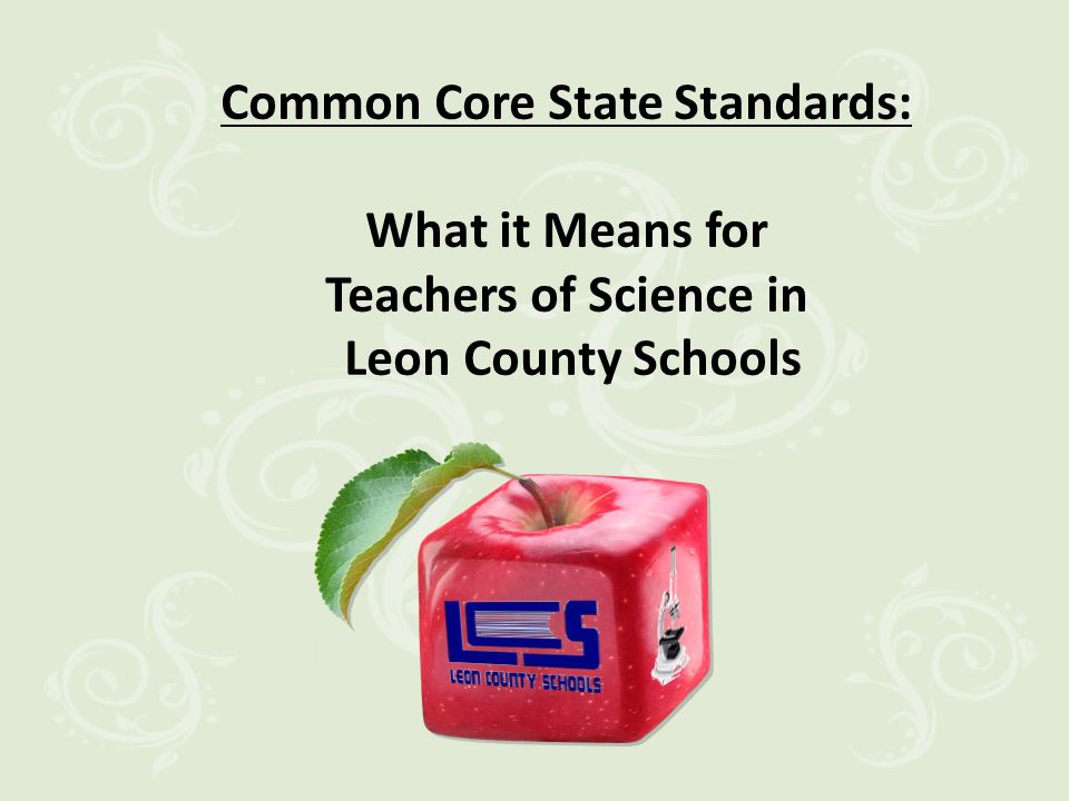 Research Research Proven CCSS Instruction in the Science Classroom