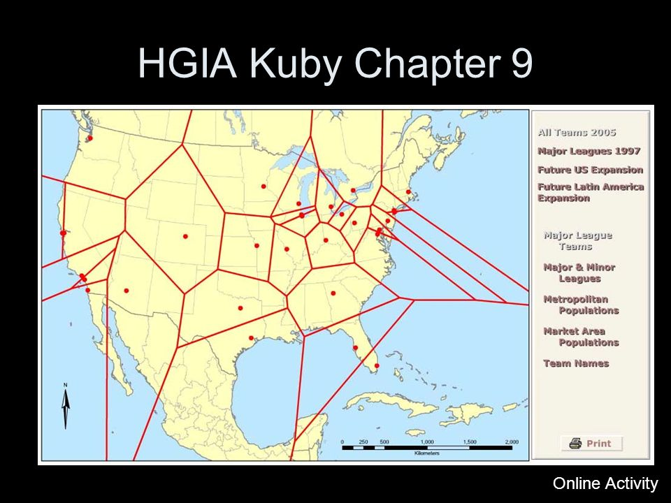 Online Activity HGIA Kuby Chapter 9