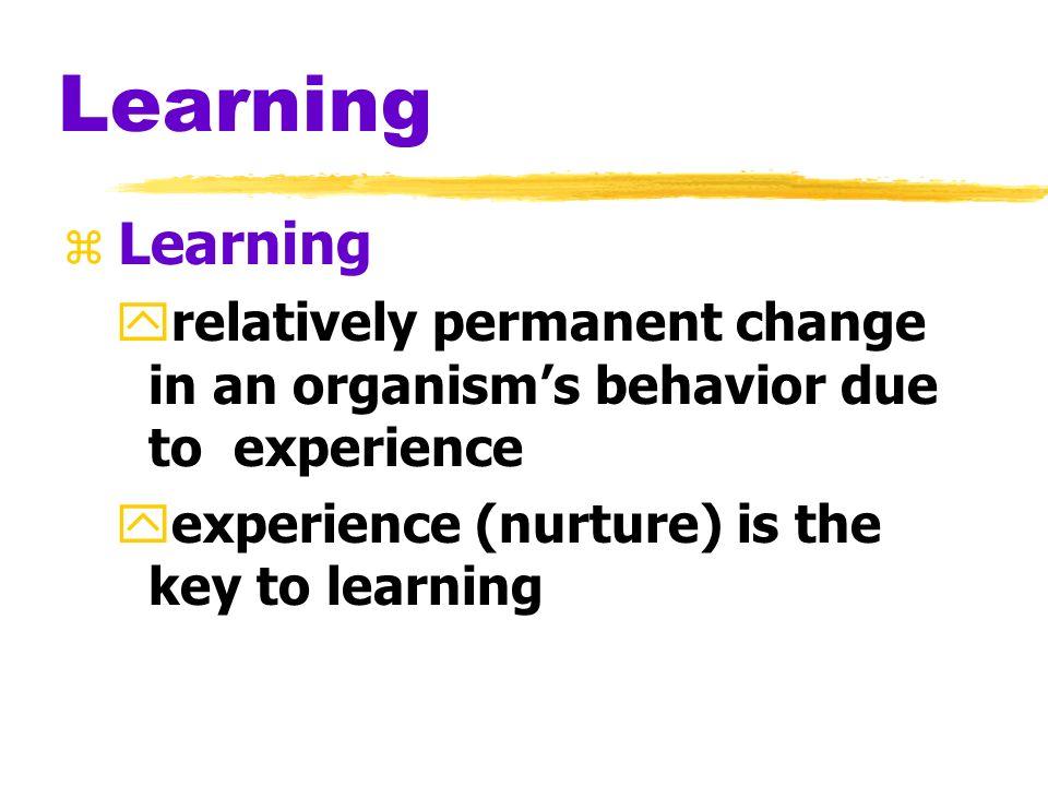 Myers PSYCHOLOGY (6th Ed) Chapter 8 Learning zAP Psychology zLawton Chiles High School zMrs. Womble
