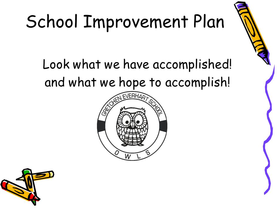 Parent Involvement 82% of the parents were in attendance at their childs IEP meeting.