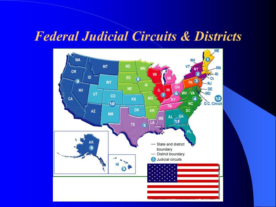 Federal Judicial Circuits & Districts