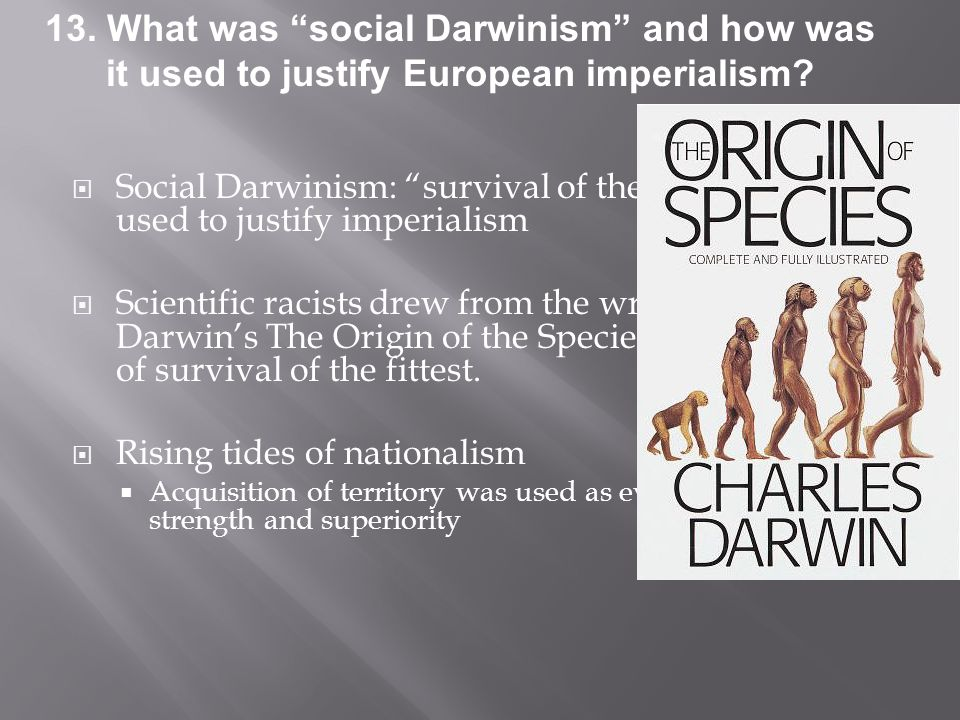 a report on social darwinism The president used the phrase social darwinism to characterize the gop house budget the global sisters report free newsletters social security.