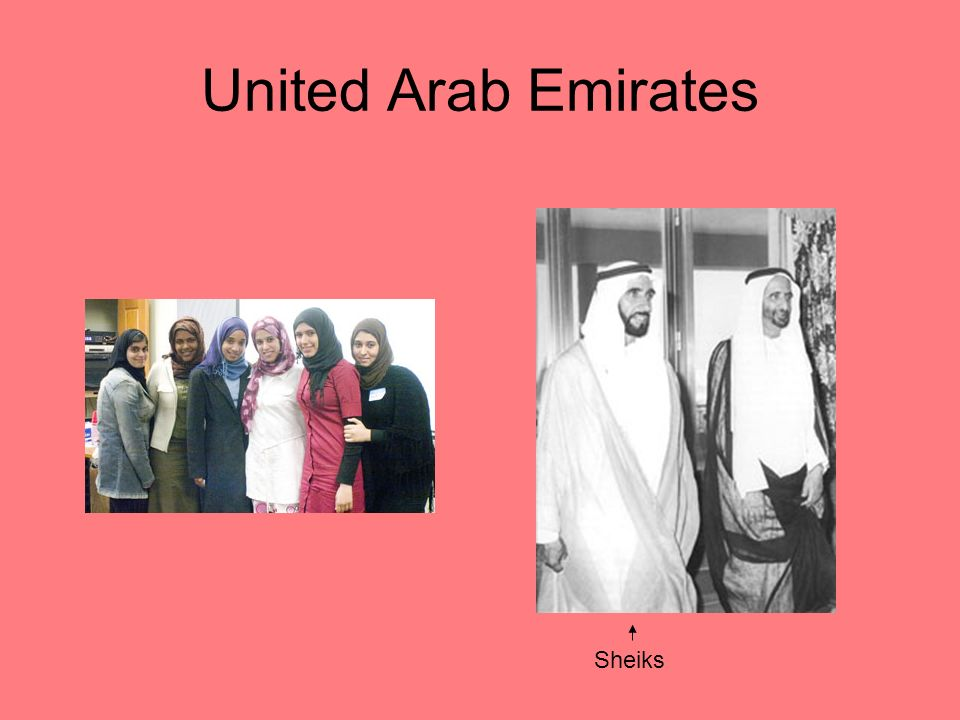 United Arab Emirates Sheiks