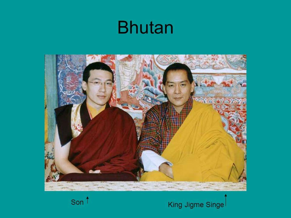 Bhutan King Jigme Singe Son