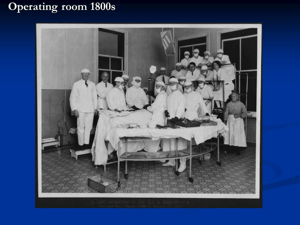 Operating room 1800s