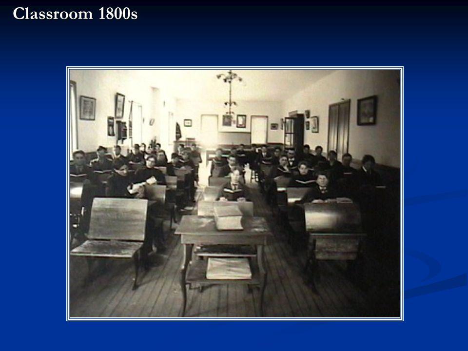 Classroom 1800s