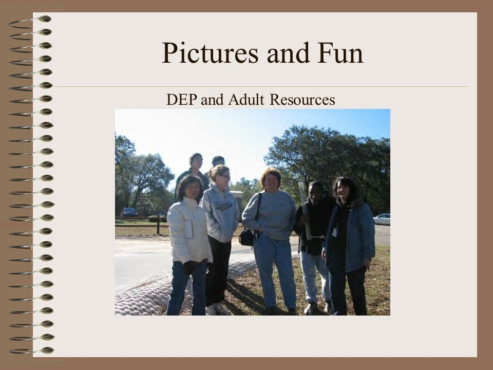 Pictures and Fun DEP and Adult Resources