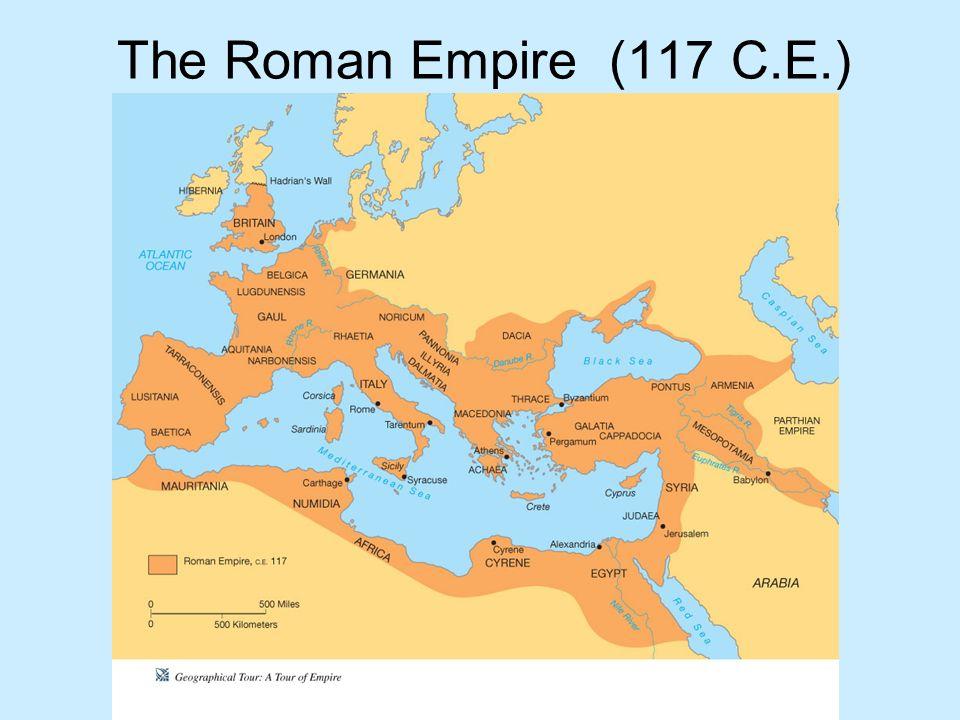 The Roman Empire (117 C.E.)