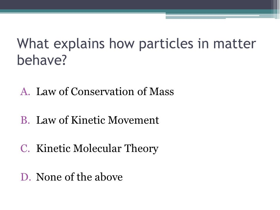 What Happens to Mass and Energy During Physical and Chemical Changes.
