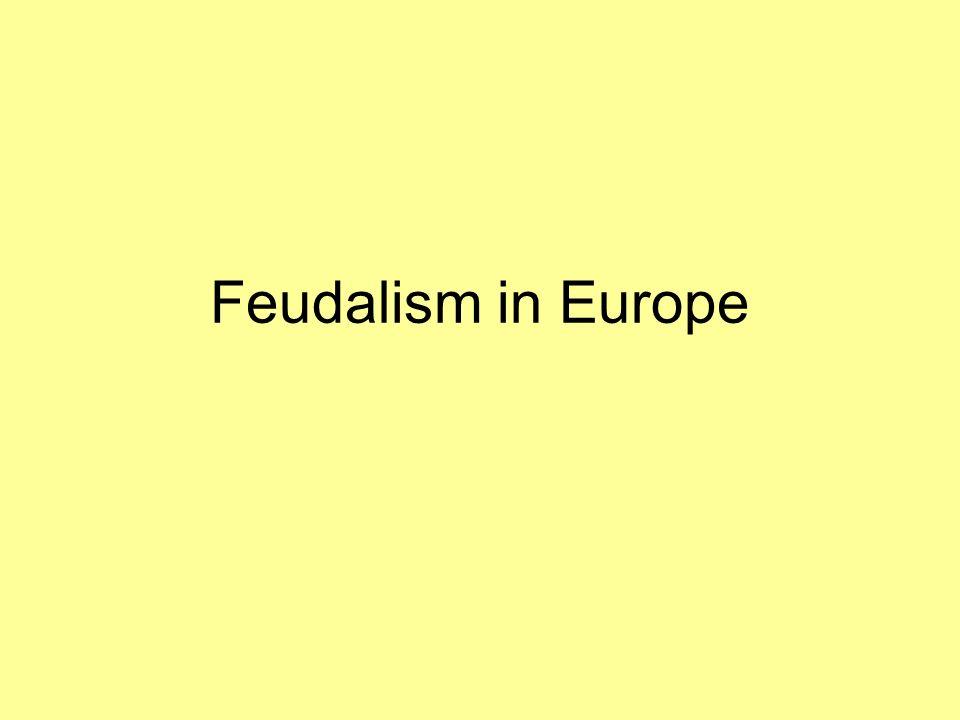 Feudalism in Europe