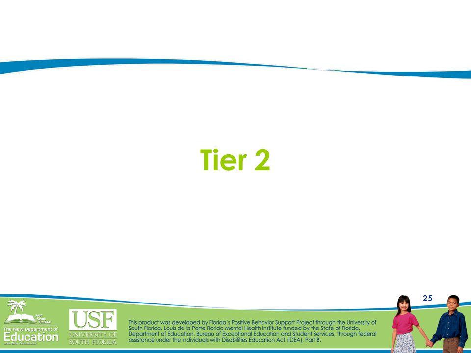 25 Tier 2