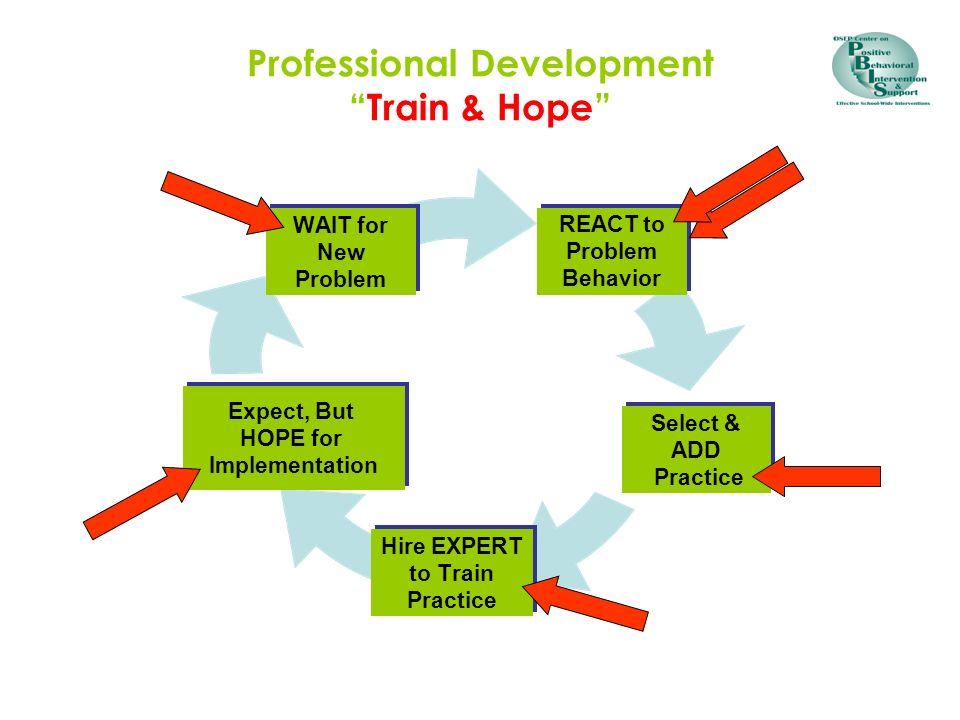 Professional DevelopmentTrain & Hope