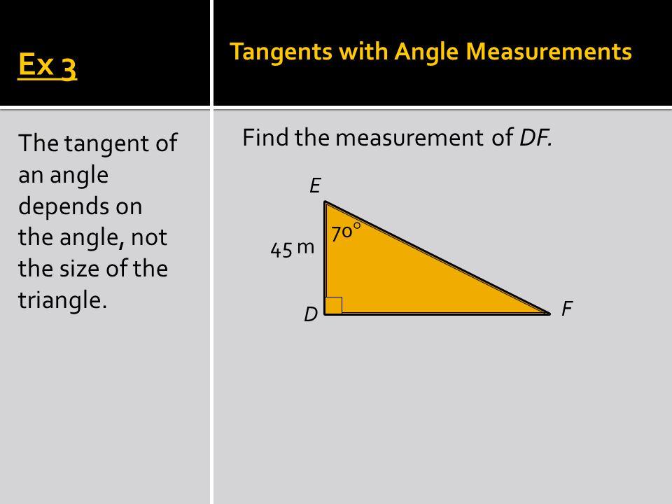 R Q P 55 20 m Find the measurement of QR. Ex 4