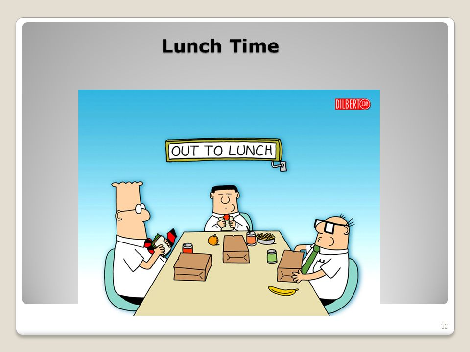 Lunch Time 32