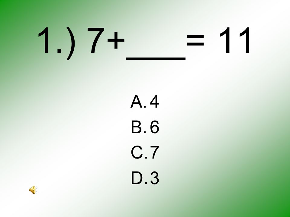 SAT-10 Practice Mark your answers correctly on the SAT-10 Practice paper.