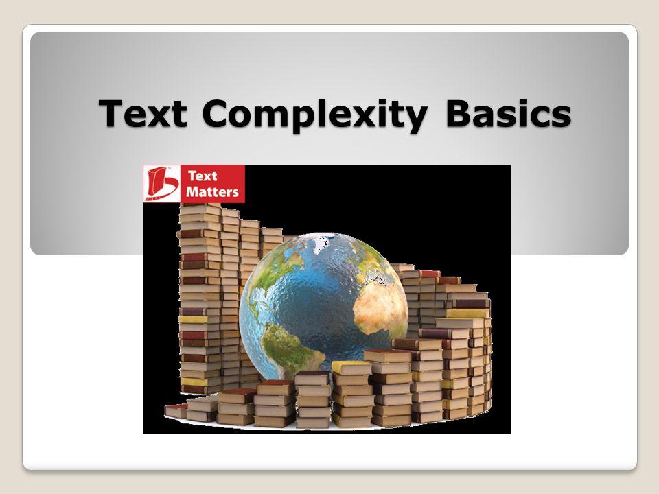 Text Complexity Basics