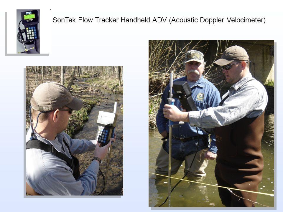 SonTek Flow Tracker Handheld ADV (Acoustic Doppler Velocimeter)