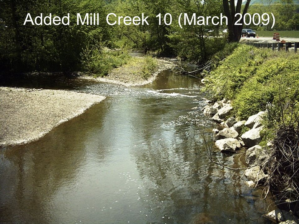 Added Mill Creek 10 (March 2009)
