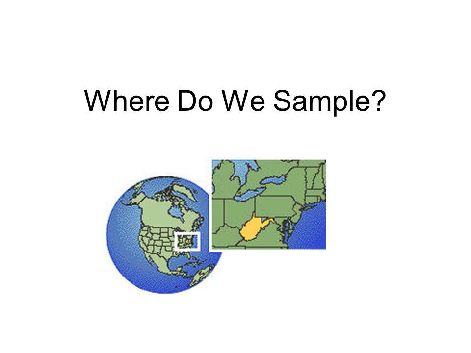 Where Do We Sample
