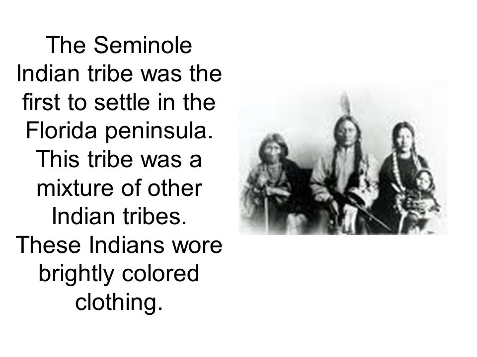 Chief Osceola of the Seminole Indians went to St.