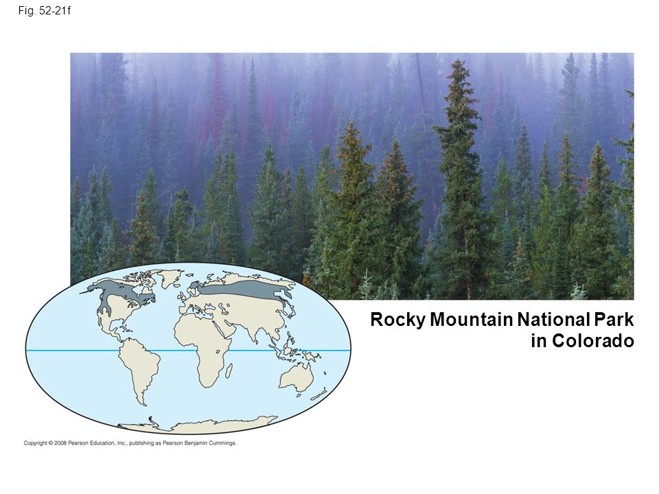 Fig. 52-21f Rocky Mountain National Park in Colorado