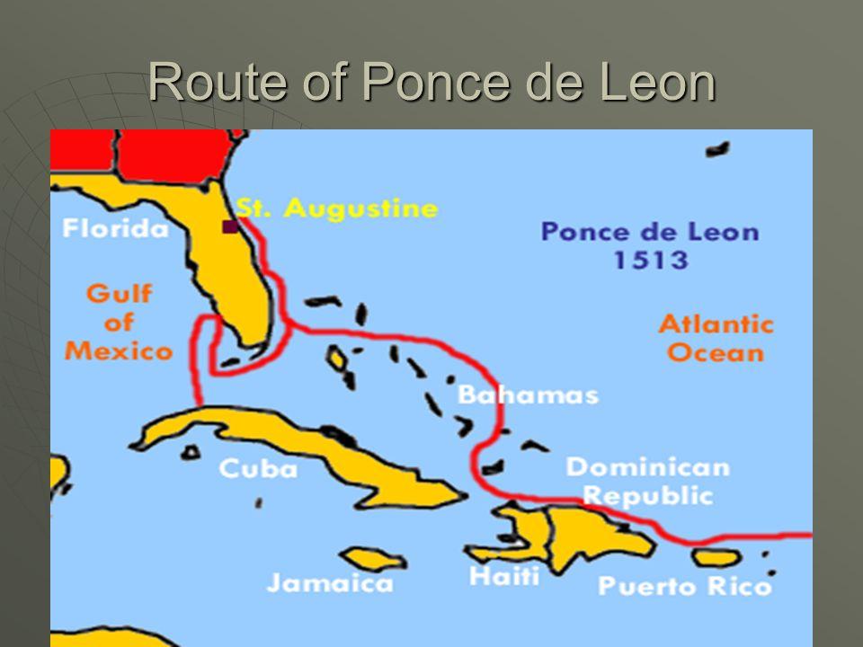 Route of Ponce de Leon