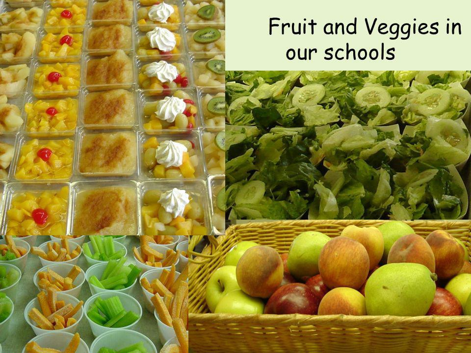 Fruit and Veggies in our schools