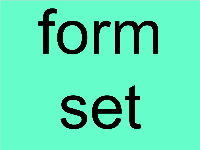 form set