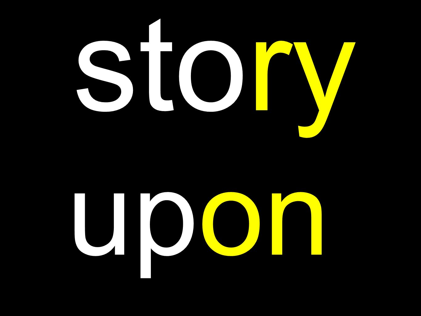 story upon